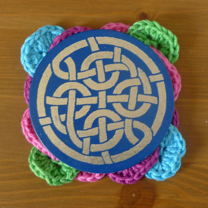 coaster on top or original Celtic coaster