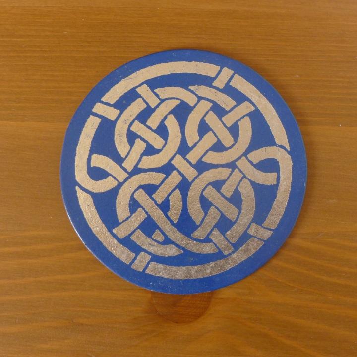 small coaster from Iona