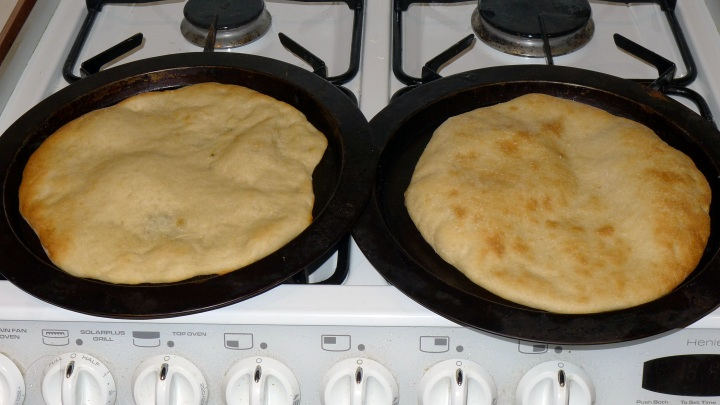 two pizza bases