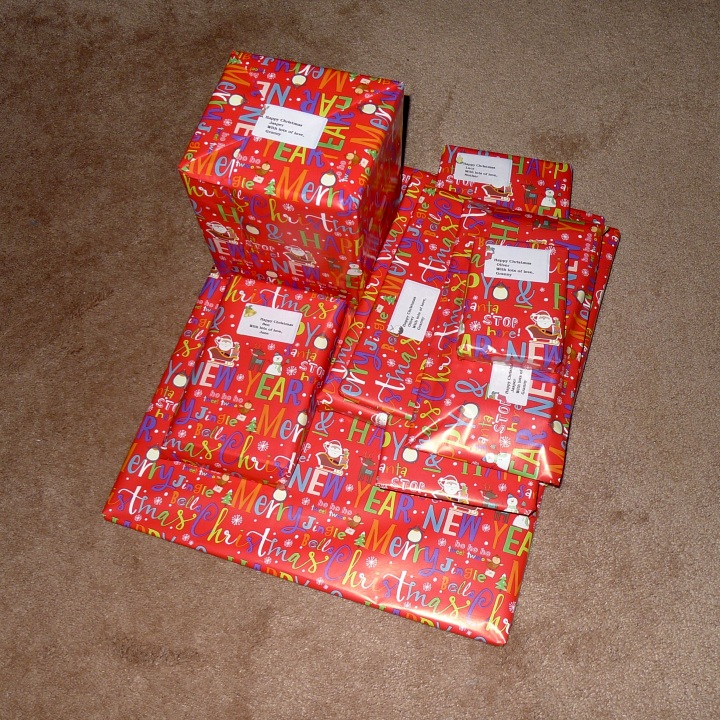 packed presents