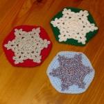 Christmas Snowflake Coaster