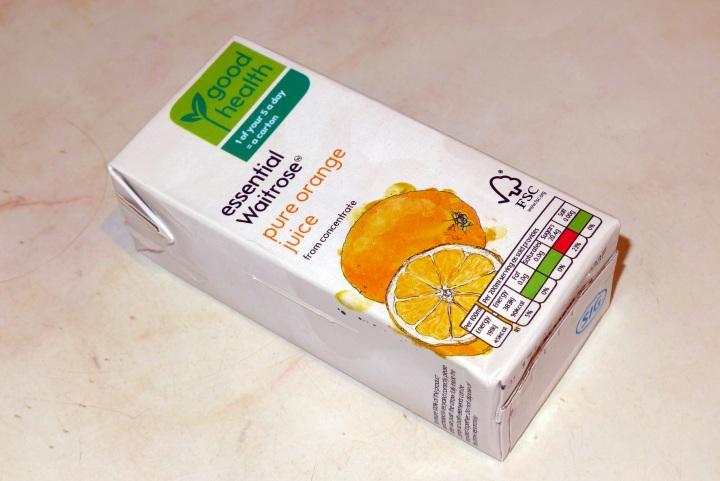 carton of orange juice