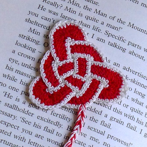 closer view of bookmark