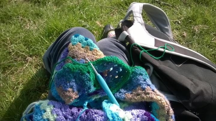 starting to crochet