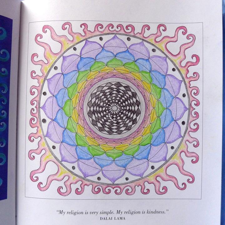 my colouring of fourth mandala