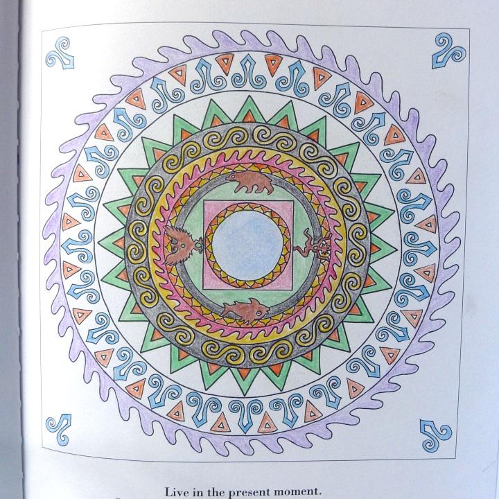 my colouring of third mandala