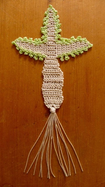 Final cross and tassel
