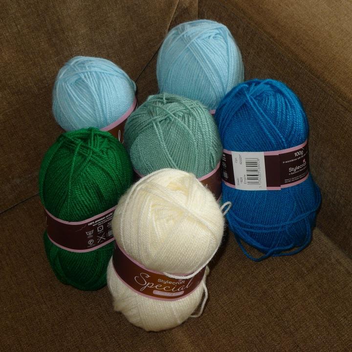yarn bought