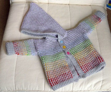 baby jumper with hood
