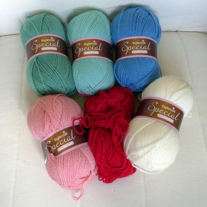 chosen yarns