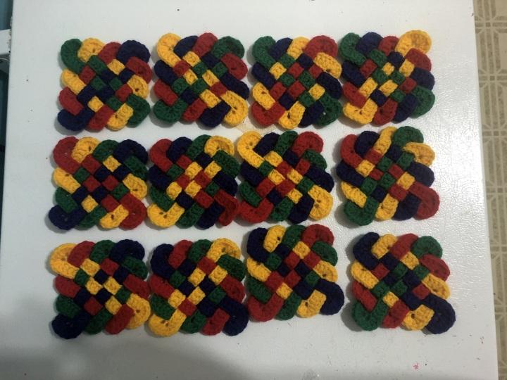 Twelve Celtic Coasters