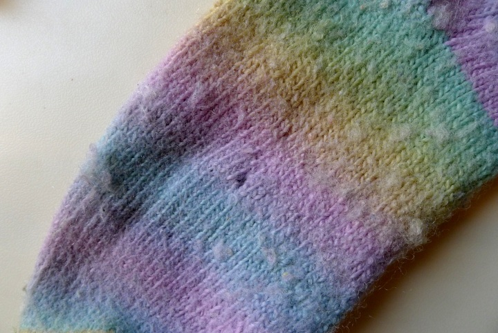 hole in other sock