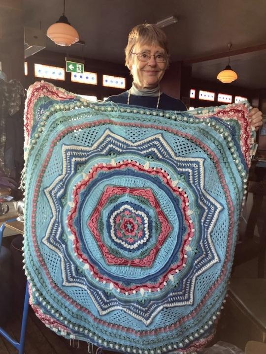 blanket at Crafty Coffee