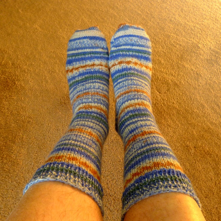socks from above