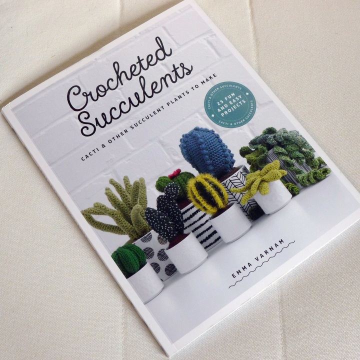 Ccocheted Succulents book
