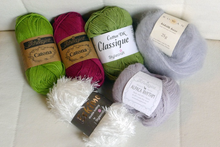 yarn from Wool Warehouse