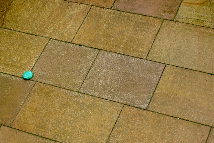 general view of some paving