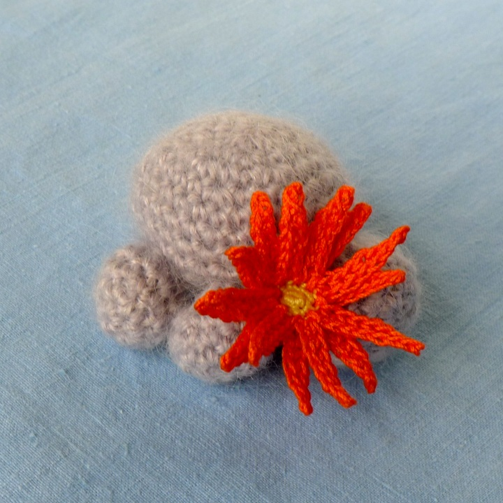 little mouse with original flower