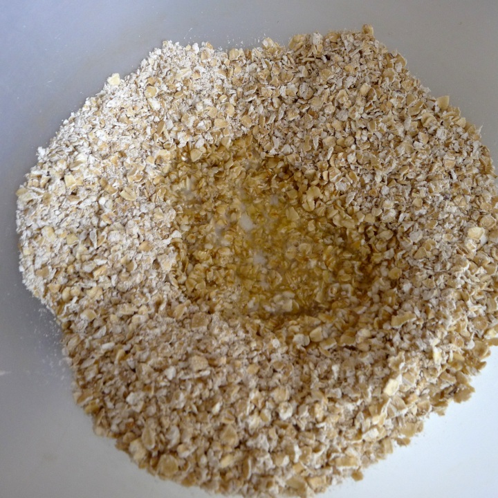 butter added to oats