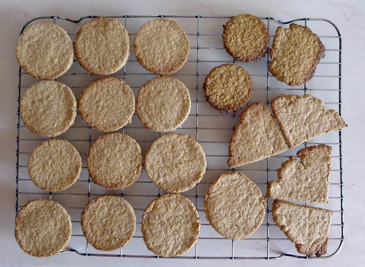 cooked oatcakes