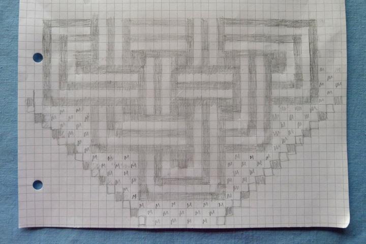 hand drawn chart