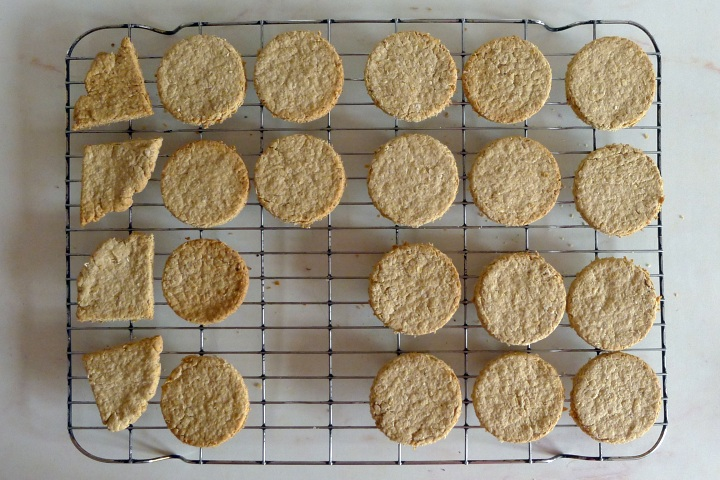 cooked oat cakes