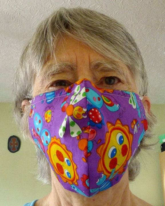 mask worn