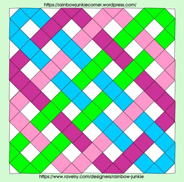 plan for Celtic Knot Granny blanket