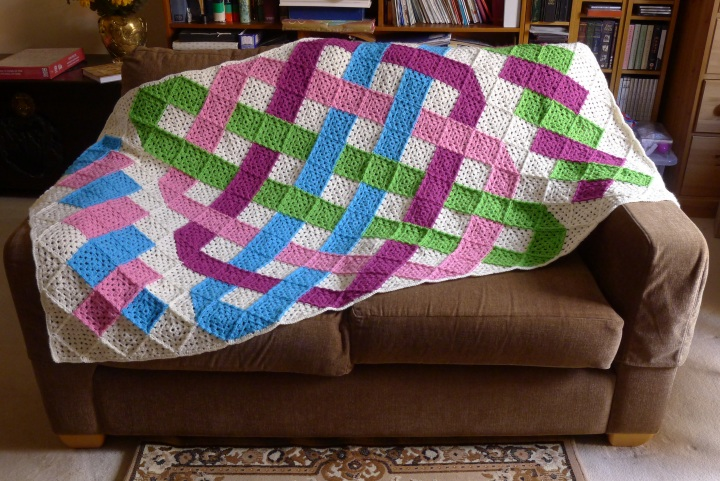 blanket on settee