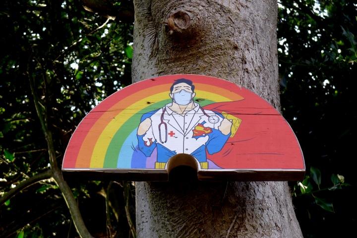 doctor/superman rainbow