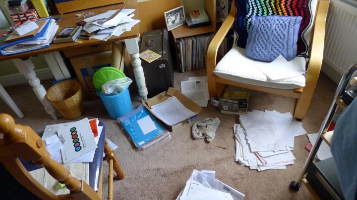 tidying