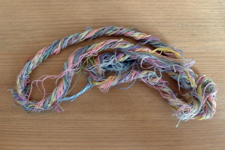 sewing cotton plait