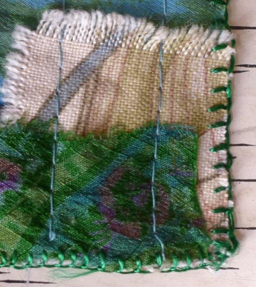 blanket stitch eging