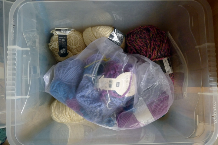 yarn in box