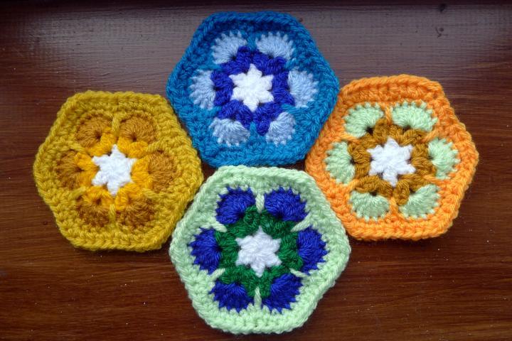four different motifs