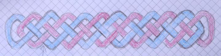 sketch of Celtic border