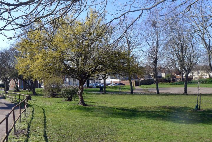small park