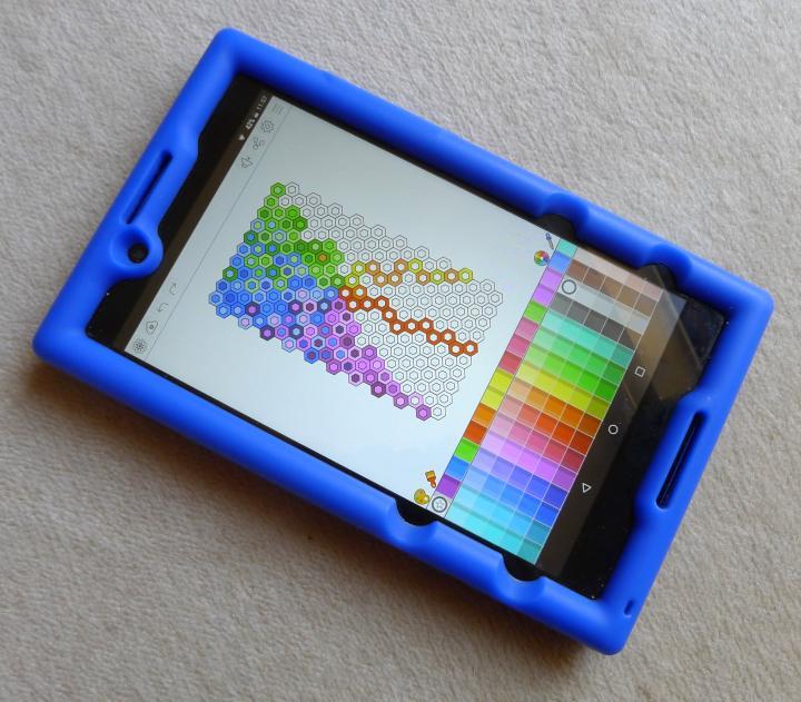 app on tablet