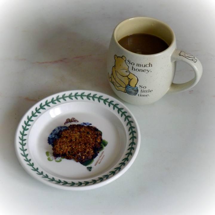 cookie and mug of coffee