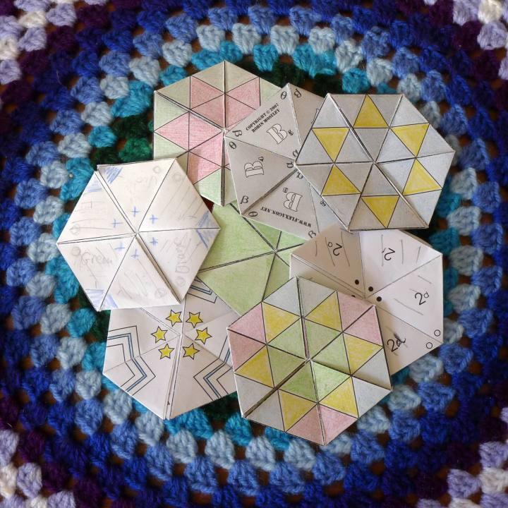 paper hexaflexagons