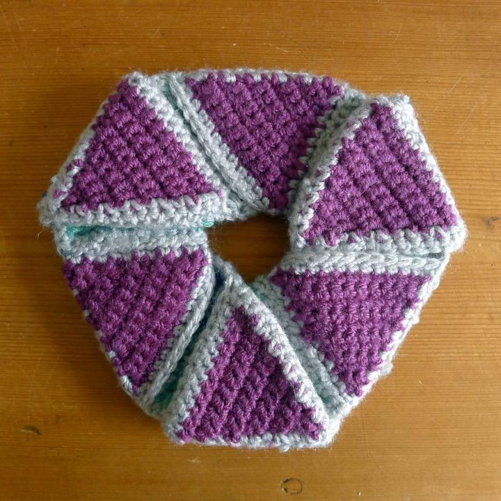 the hexa-hexaflexagon side three.